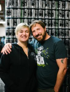 "John and Jen Kimmich are thrilled to have Grow Compost as a partner in their efforts to reduce the Alchemist's environmental footprint. ""Grow Compost provides an essential service that enables us to use our organic waste to produce green energy. """